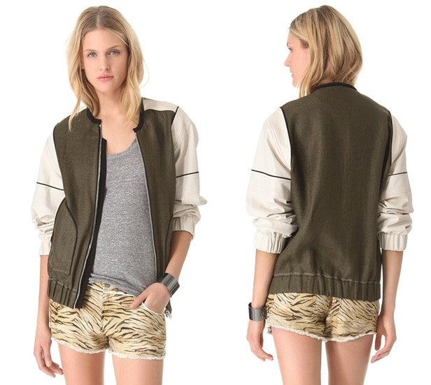 IRO Paul Baseball Jacket