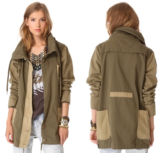 One Teaspoon Cry Tough Duffle Jacket