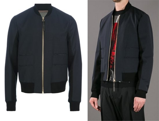 Paul Smith Paneled Bomber Jacket