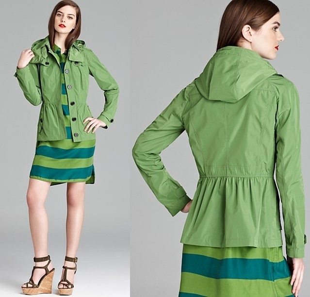 Burberry Brit Fordleigh Cropped Anorak