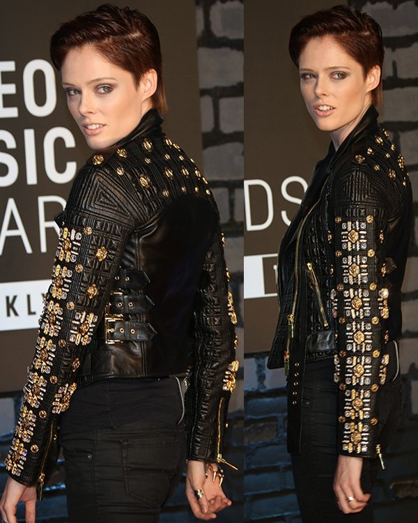 Coco Rocha at the 2013 MTV Music Awards held at Barclays Center in Brooklyn, New York, on August 25, 2013