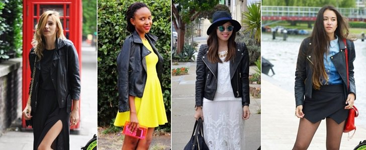 6 Feminine & Girly Ways to Wear a Leather Jacket Without Looking Like a Biker Girl