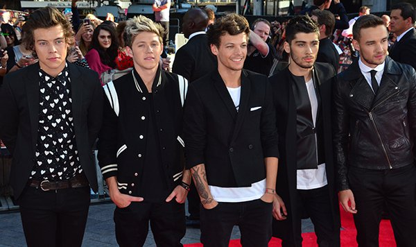 World premiere of 'One Direction: This Is Us'