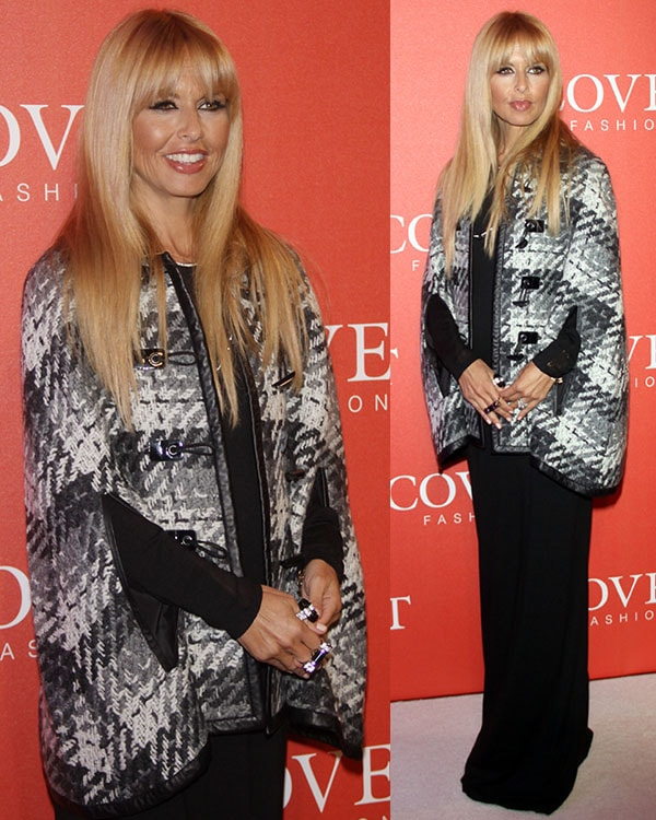 Rachel Zoe at Covet Fashion Launch event at 82 Mercer in SoHo, New York City, on August 27, 2013