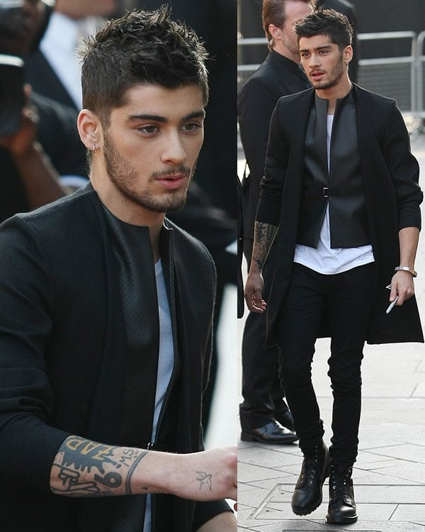 Zayn Malik One Direction This Is Us Premiere