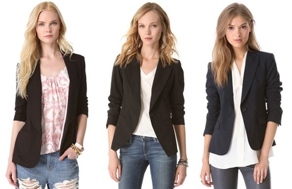 Black Blazer Set A
