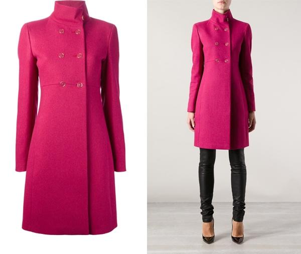 Emporio Armani Double Breasted Coat