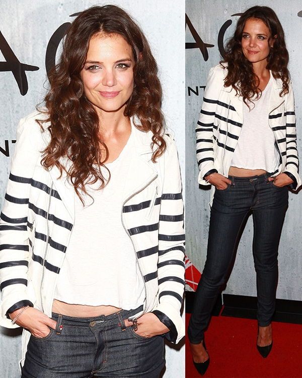 Katie Holmes at TAO Downtown Opening Night at The Maritime Hotel in New York City on September 28, 2013