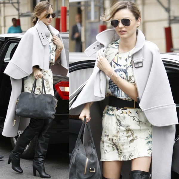 Miranda Kerr out and about in Paris, France, on October 2, 2013