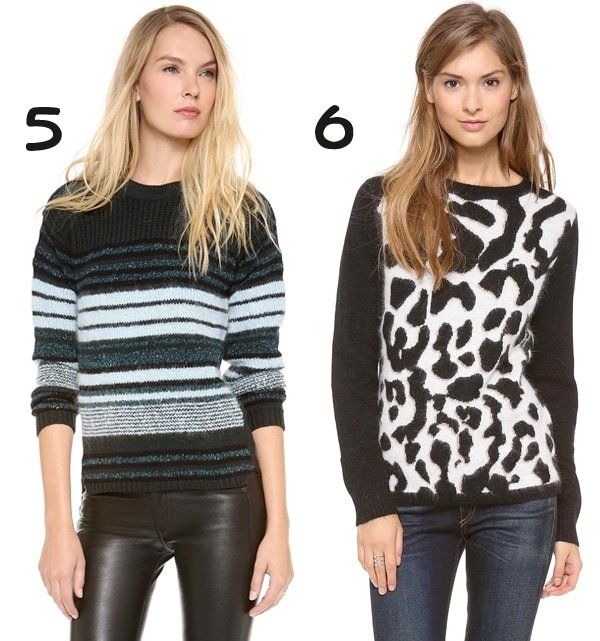 Dagmar Liala Sweater and Glamorous Leopards, Oh My! Sweater