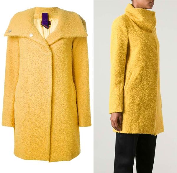 Femme Funnel Neck Coat