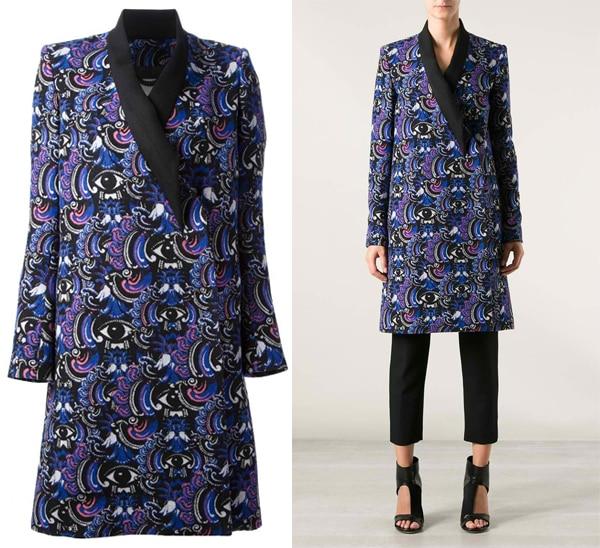Kenzo Eye Print Coat