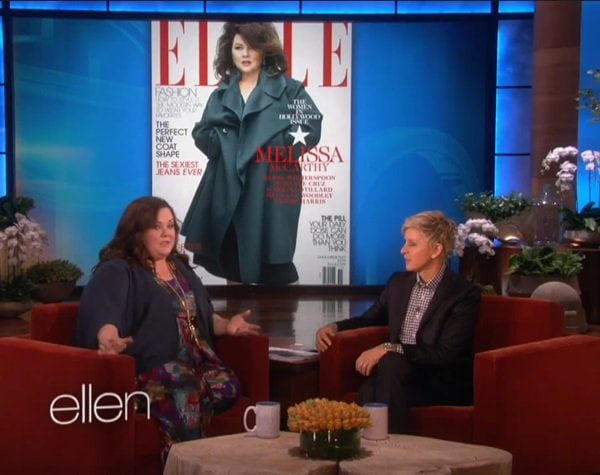 In the interview with Ellen DeGeneres, Melissa says that she initially could not understand how the cover could generate such controversy