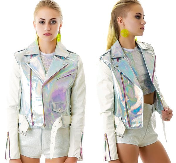 "UNIF ""Gammaray"" Moto Jacket"