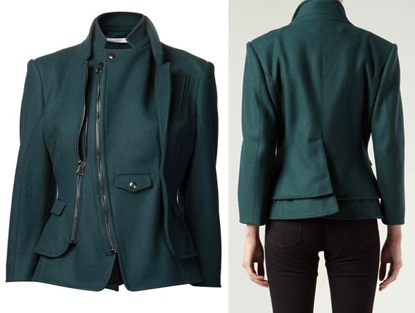 Altuzarra High-Collar Suiting Jacket