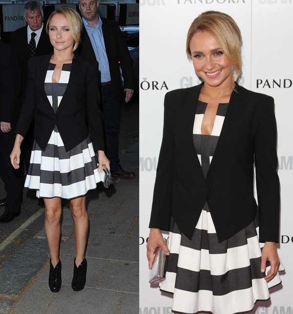 Hayden Panettiere at Glamour Magazine Women of the Year Awards 2013 in London, England, on June 5, 2013