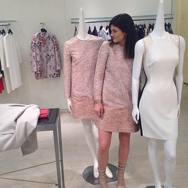 Kylie Jenner shopping Stella McCartney