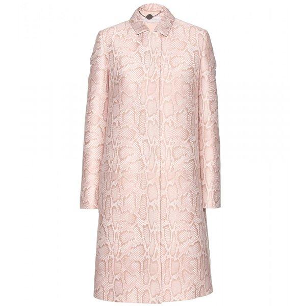 Stella McCartney Python Printed Coat
