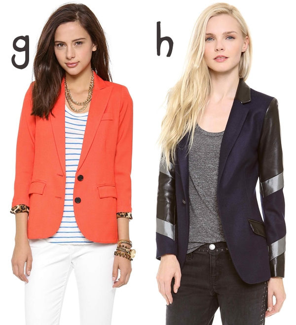 Saturate your wardrobe with these blazers