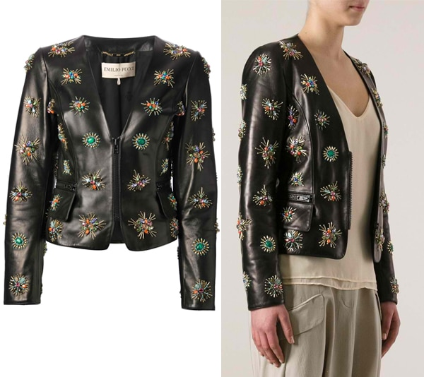 Emilio Pucci Bead and Crystal Embellished Jacket
