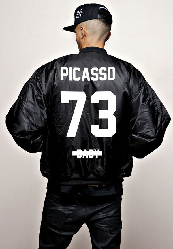 JAY-Z Picasso Baby BOMBER Magna Carta World Tour LIMITED EDITION
