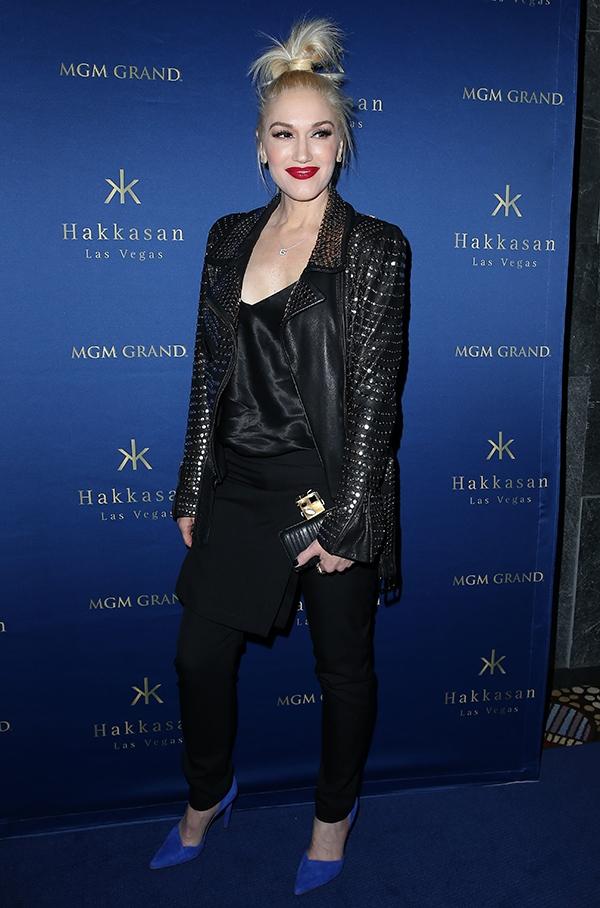 Gwen Stefani at Hakkasan Las Vegas' first anniversary celebration inside MGM Grand Hotel & Casino in Las Vegas on April 26, 2014