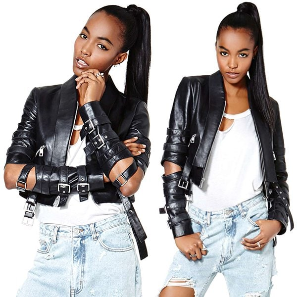 Nasty Gal Vicious Love Leather Jacket