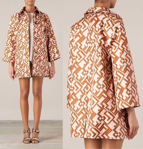 Hancock Patterned Coat
