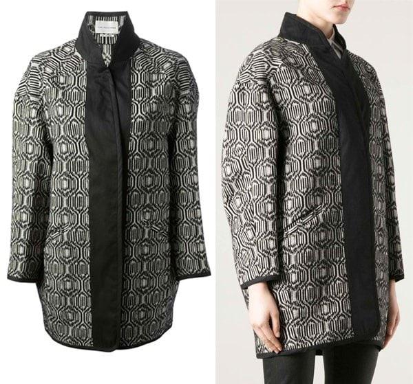 Isabel Marant Etoile Patterned Coat
