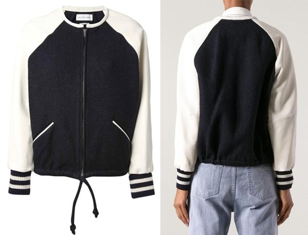 Isabel Marant Etoile Cypress Varsity Jacket