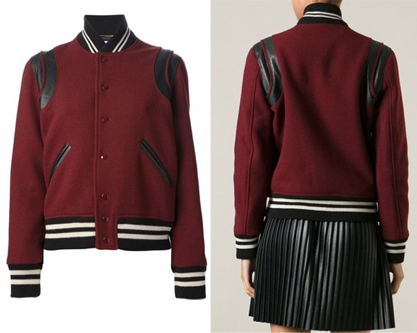 Saint Laurent Varsity Jacket