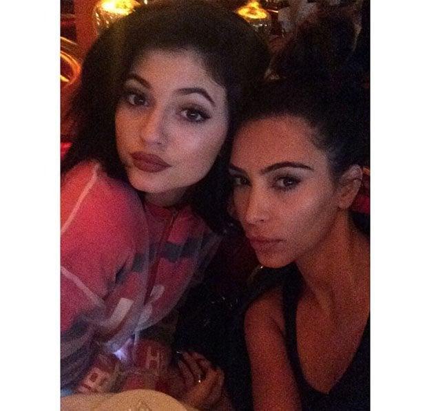 Kylie Jenner Kim Kardashian La Scala