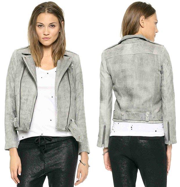 IRO Jova Leather Moto Jacket