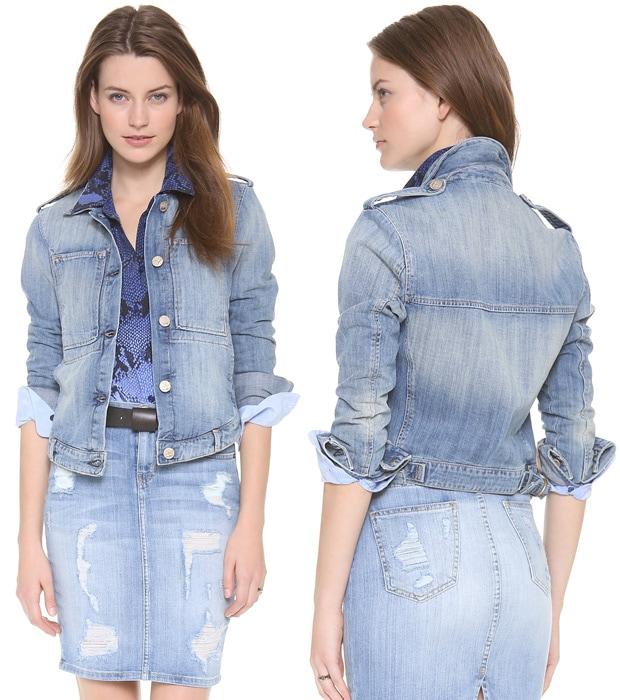 McGuire Denim Work Wear Jean Jacket