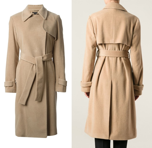 Theory Belted Long Coat