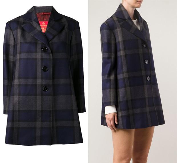 Vivienne Westwood Plaid Coat