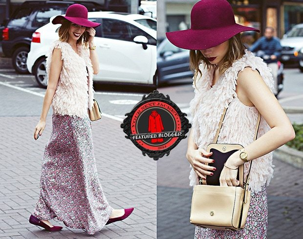 Didi rocks a cute maxi dress and a wide-brimmed hat