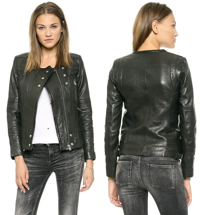 IRO Joss Leather Jacket
