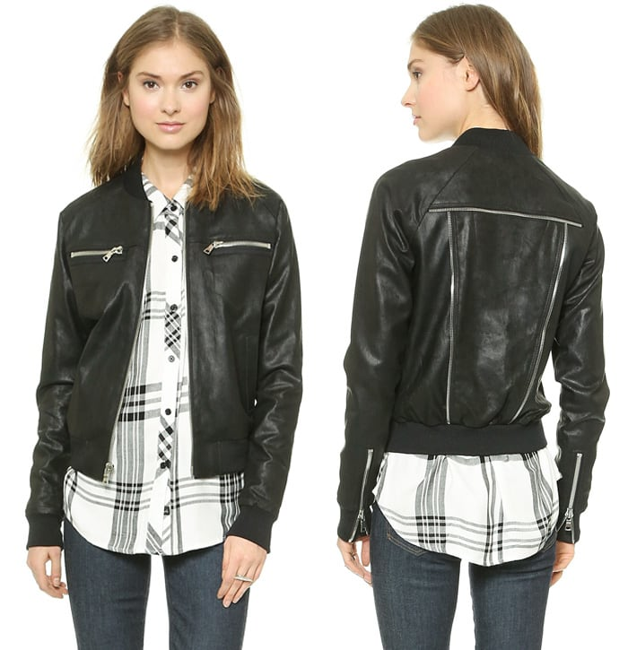 RtA Leather Jacket