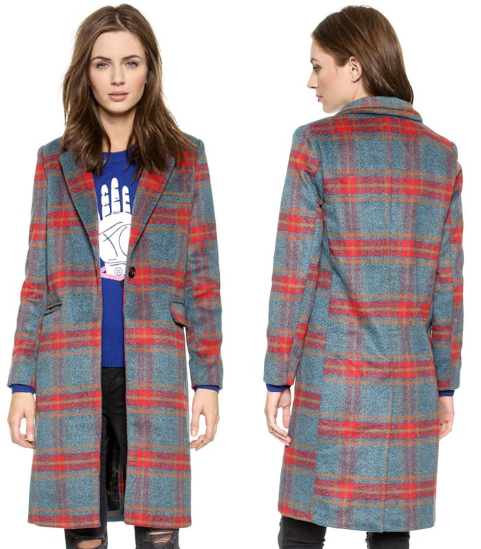 Glamorous Checkered Coat