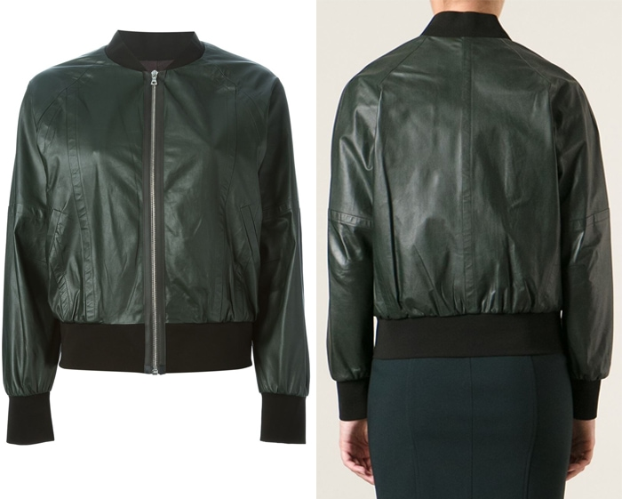 Yigal Azrouel Two Tone Bomber Jacket