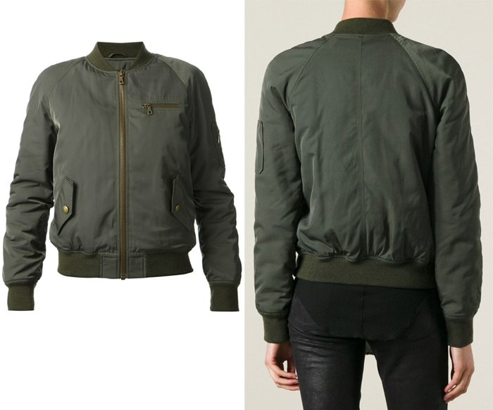 Yves Salomon Bomber Jacket