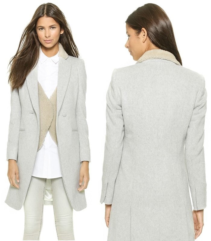 Laveer Vested Coat