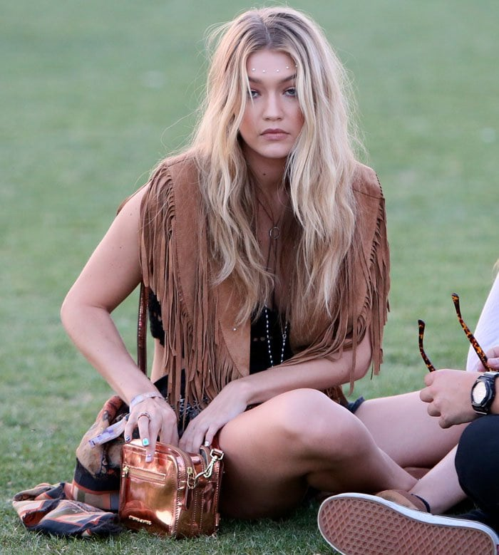 Coachella 2015 - Week 1 - Day 1 - Celebrity Sightings and Performances