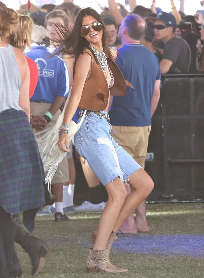 Kendall Jenner at Coachella 2015 - Week 1 - Day 1