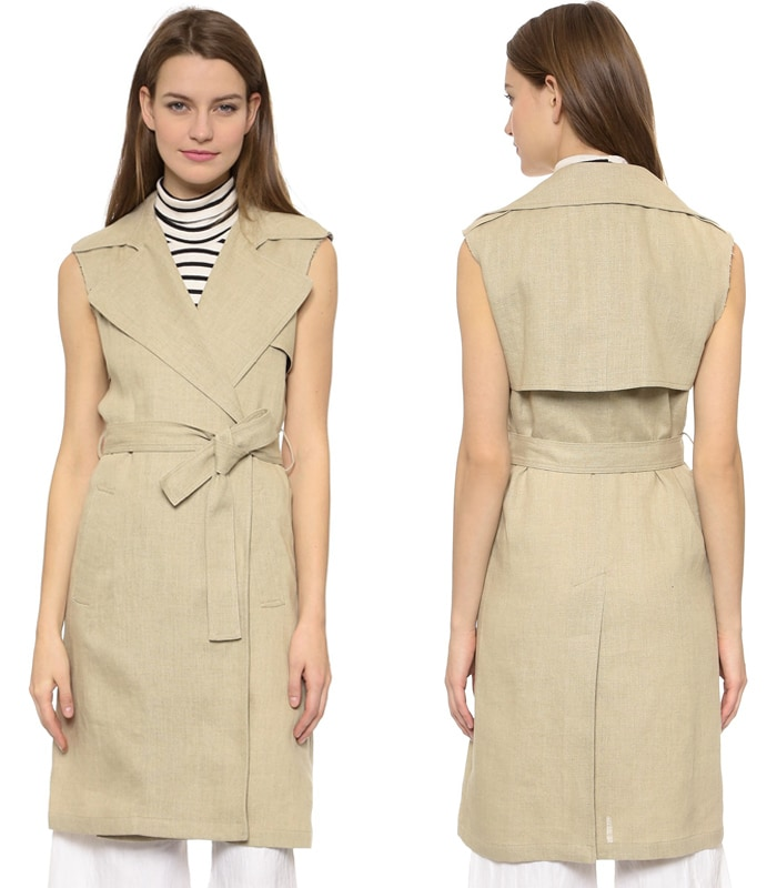 Theory Integrate Jiliya Sleeveless Coat