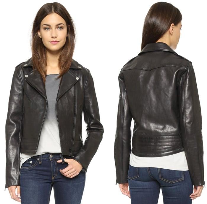 Rag & Bone JEAN Chrystie Leather Jacket