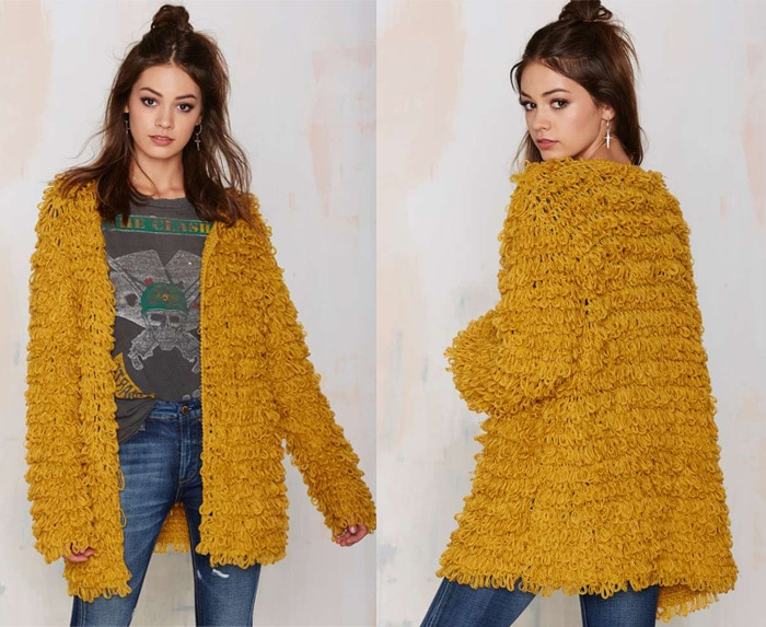 For Love & Lemons Knitz Joplin Cardigan