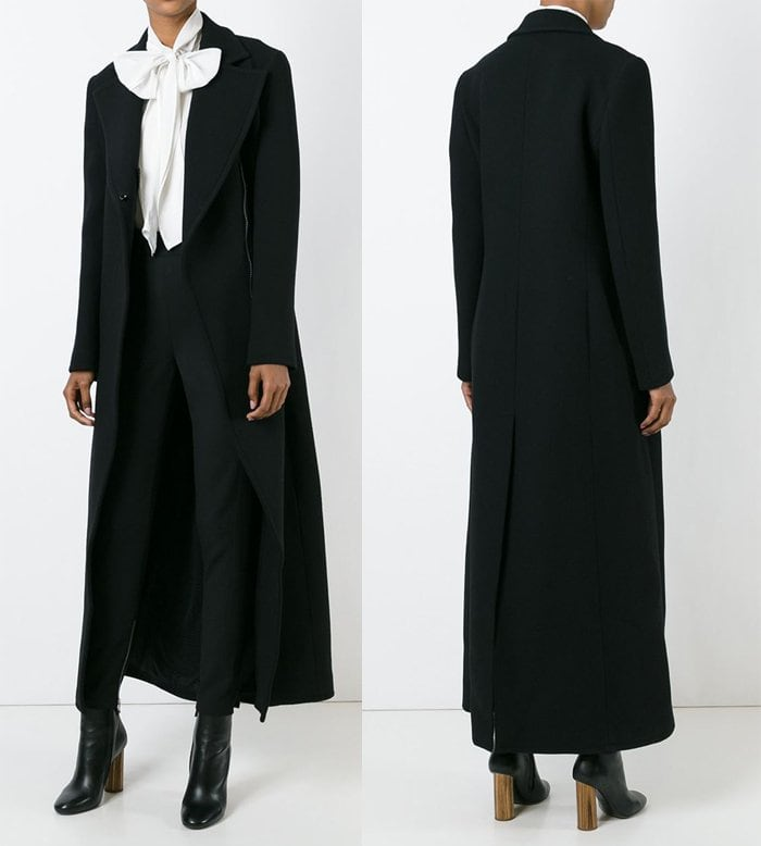 Gianluca Capannolo Fitted Maxi Coat