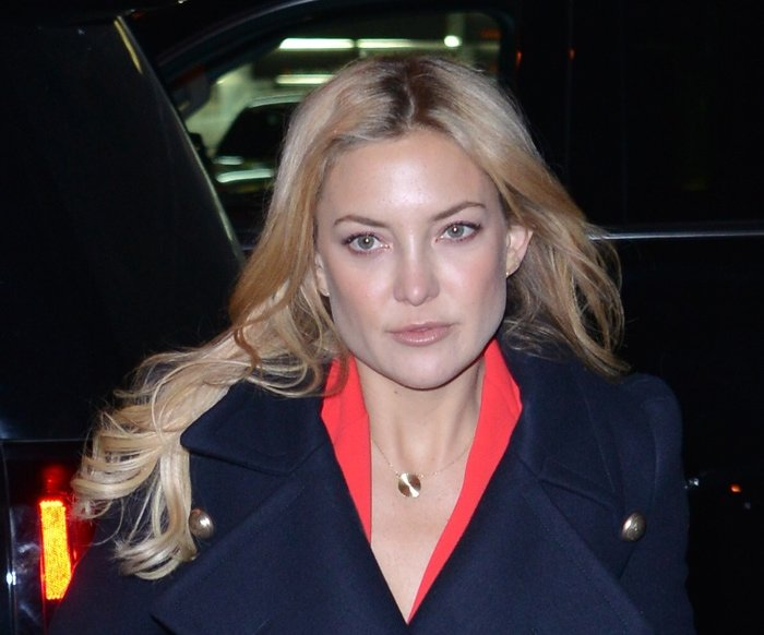 Kate Hudson returning to her hotel in New York